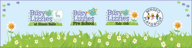 Busy Lizzies Kids Club Logos